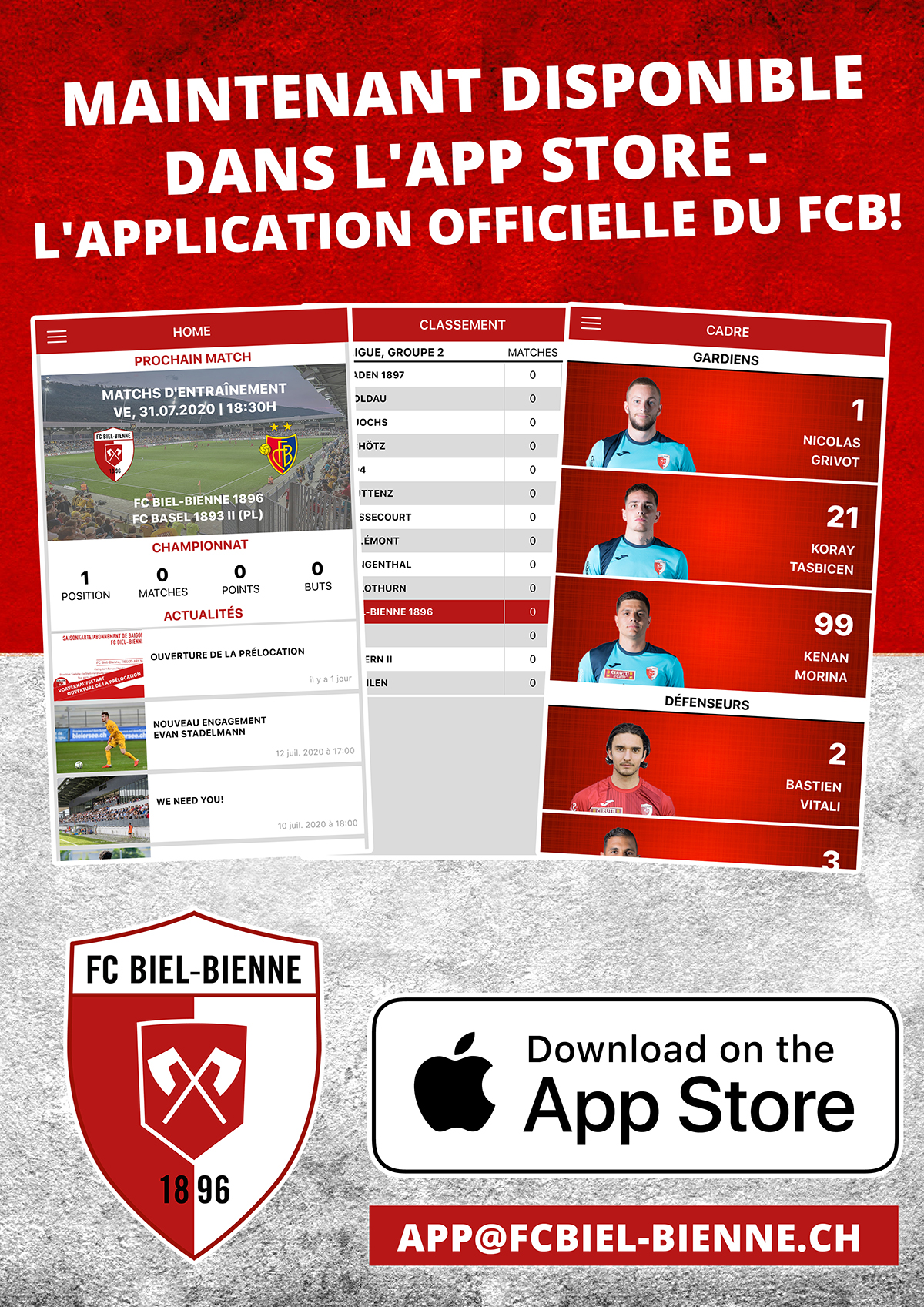 L'application officielle du FCB!